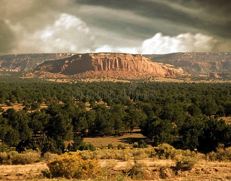 De Scène Van New Mexico Stock Foto