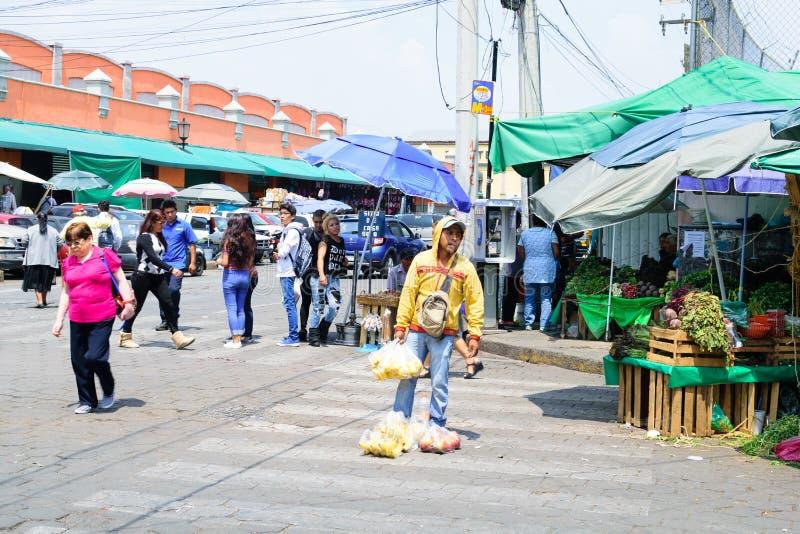 De Scène van de Straat van Mexico-City royalty-vrije stock foto