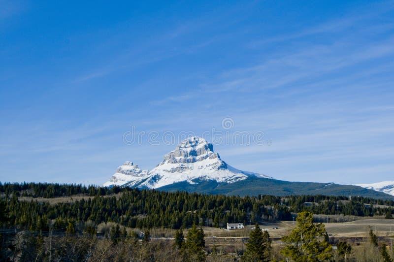 De scènelandschap van de berg royalty-vrije stock afbeeldingen