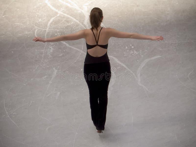 De Schaatser van het ijs royalty-vrije stock foto