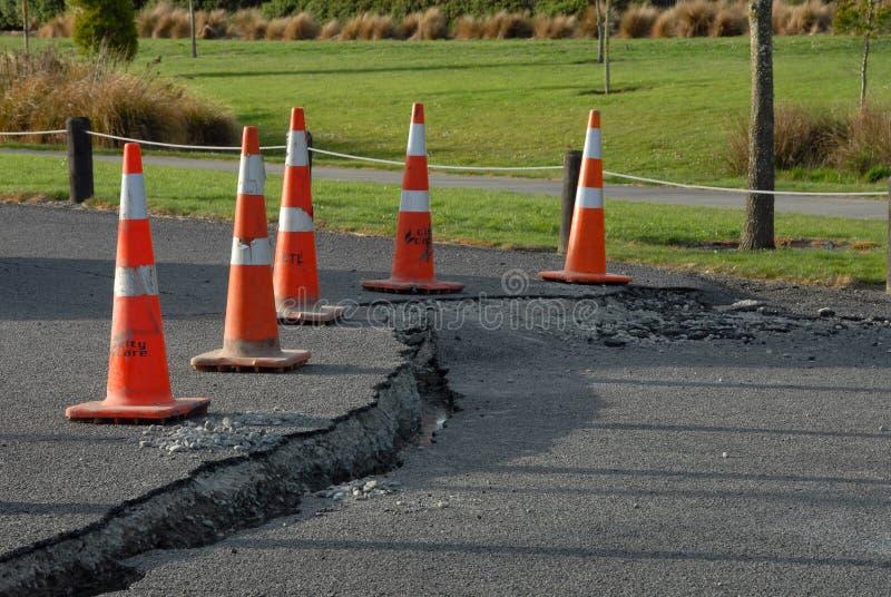 De schade van de Aardbeving van Nieuw Zeeland