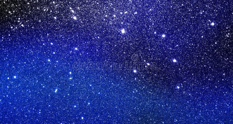 De in de schaduw gestelde zwarte en het blauw schitteren geweven achtergrond behang stock illustratie