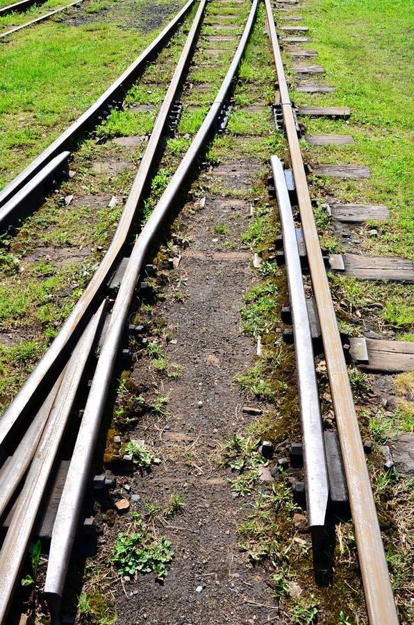 De schakelaar van de spoorweg royalty-vrije stock afbeelding
