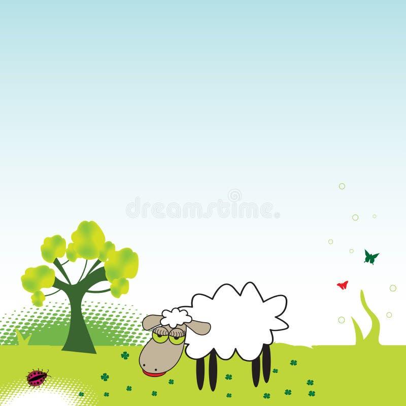 De schapen royalty-vrije illustratie