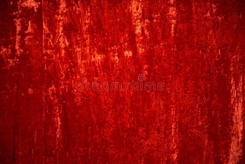 De scharlaken achtergrond van het fluweelgordijn stock fotografie