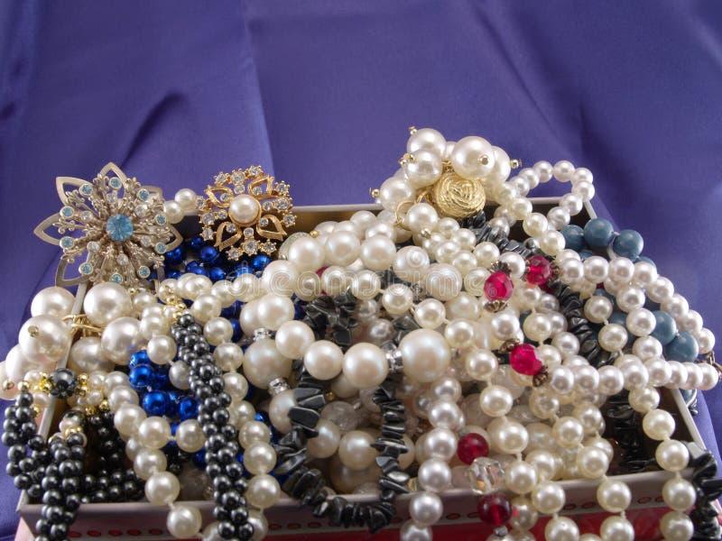 De schat van juwelen stock afbeelding