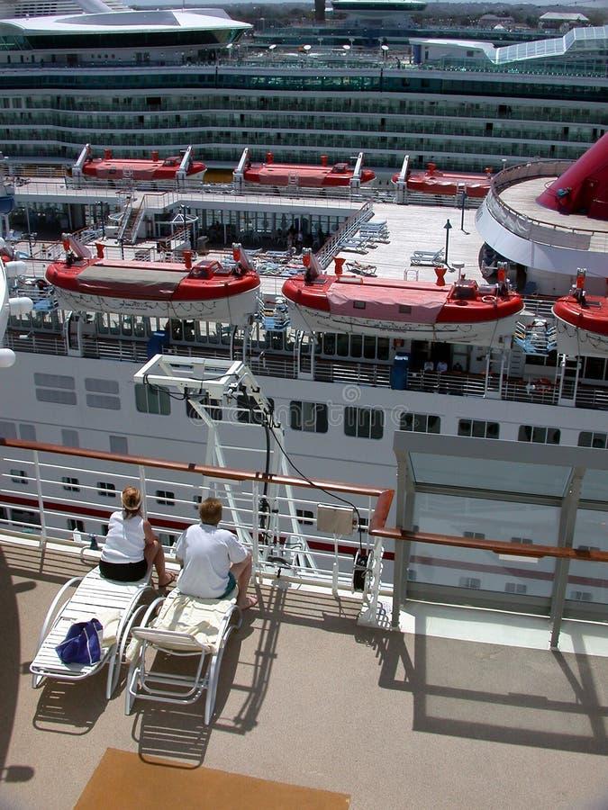 De Schepen van de cruise stock foto's