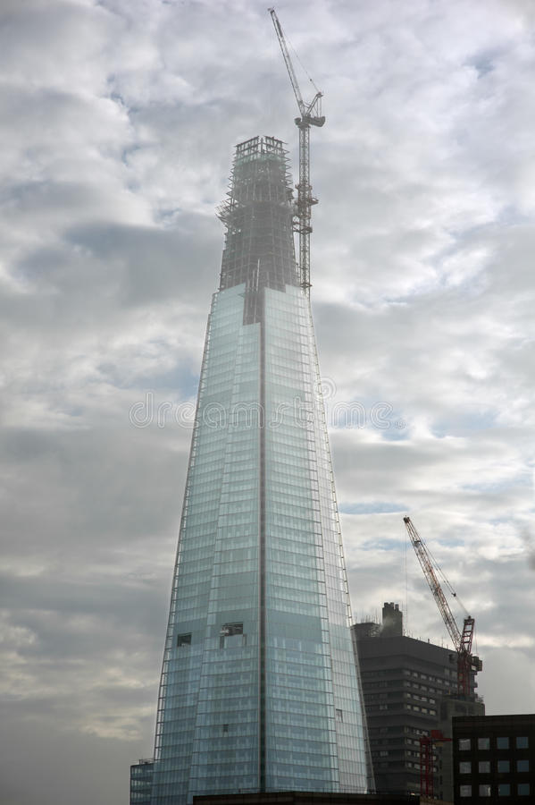 De scherf, Londen. stock foto