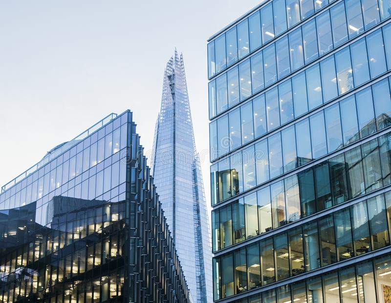 De Scherf, Londen, het UK stock foto