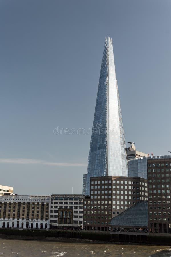 De Scherf in Londen, het UK royalty-vrije stock afbeeldingen