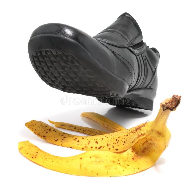 Download De Schil En De Schoen Van De Banaan Stock Afbeelding - Afbeelding bestaande uit sliding, fruit: 10779937