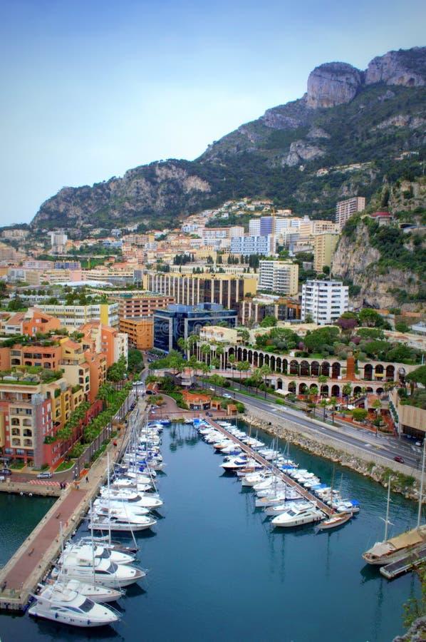 De schilderachtige mening van Monaco royalty-vrije stock foto's