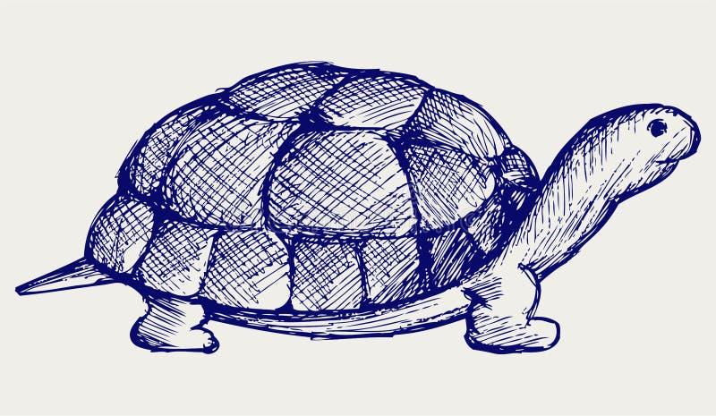 De schildpad van het oor vector illustratie