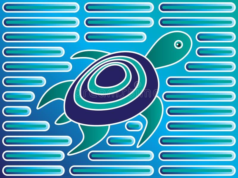 De Schildpad van Mola royalty-vrije illustratie