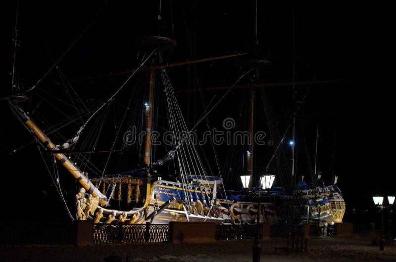 De schip` Goto Voorbeschiktheid ` stock fotografie