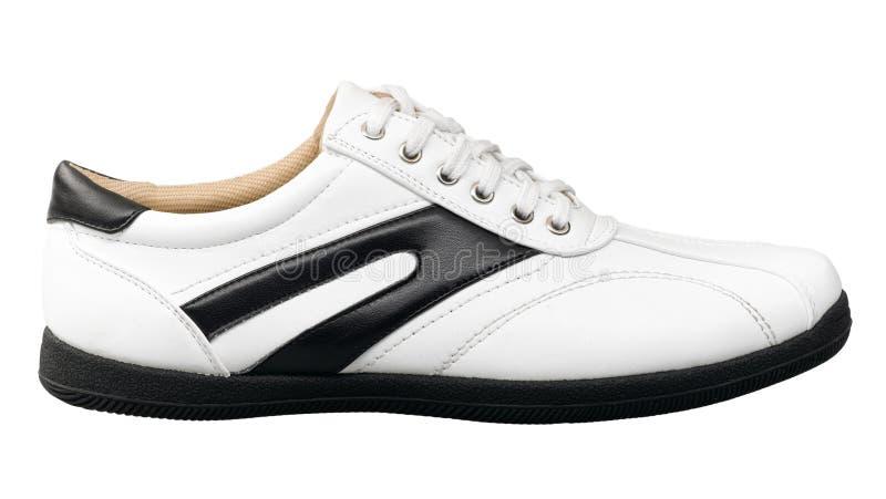 De schoen van de luxemensen van de sport stock foto