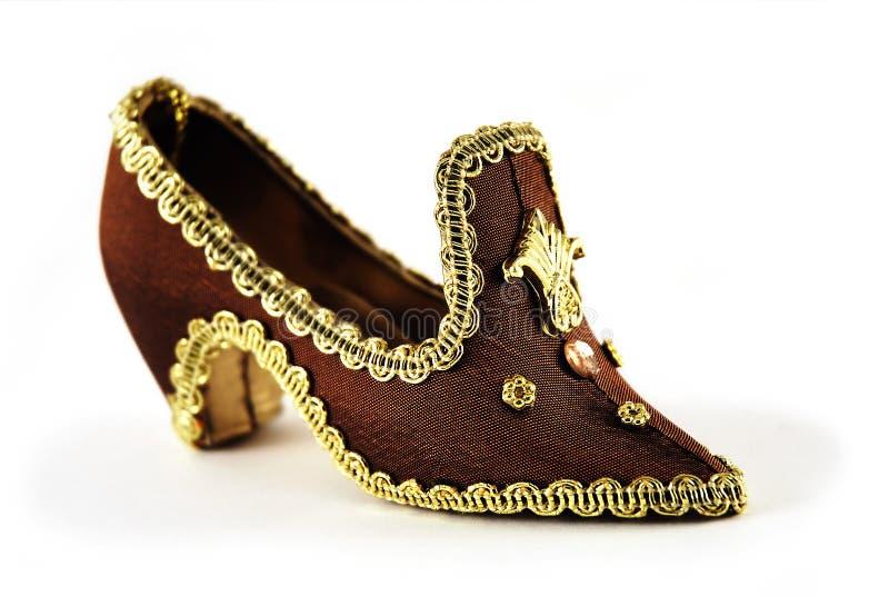 De schoen van de prinses royalty-vrije stock afbeeldingen