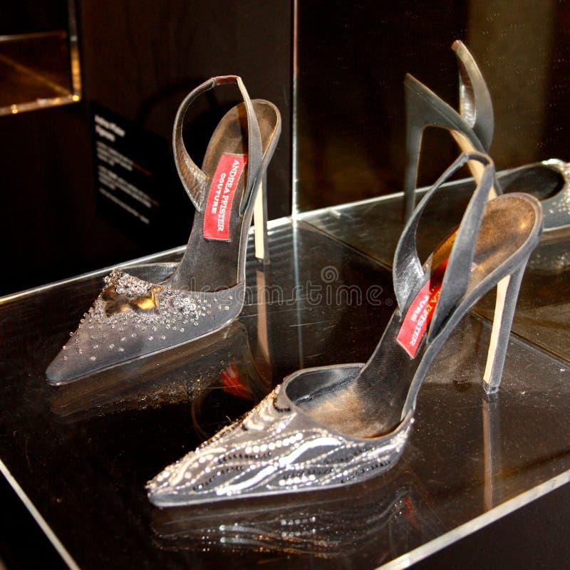 De schoenen van Andrea Pfister's stock foto's