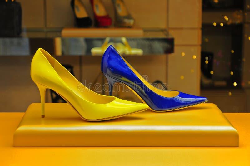 De schoenen van dames royalty-vrije stock foto's