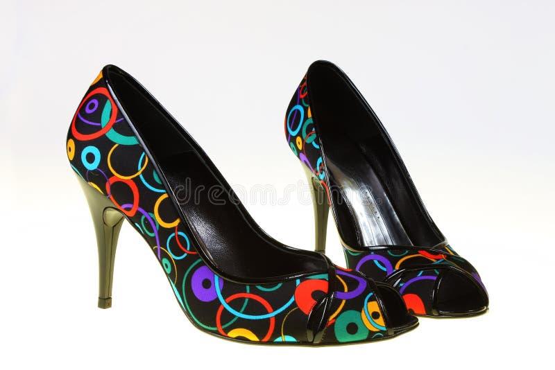 De schoenen van de lente stock foto's