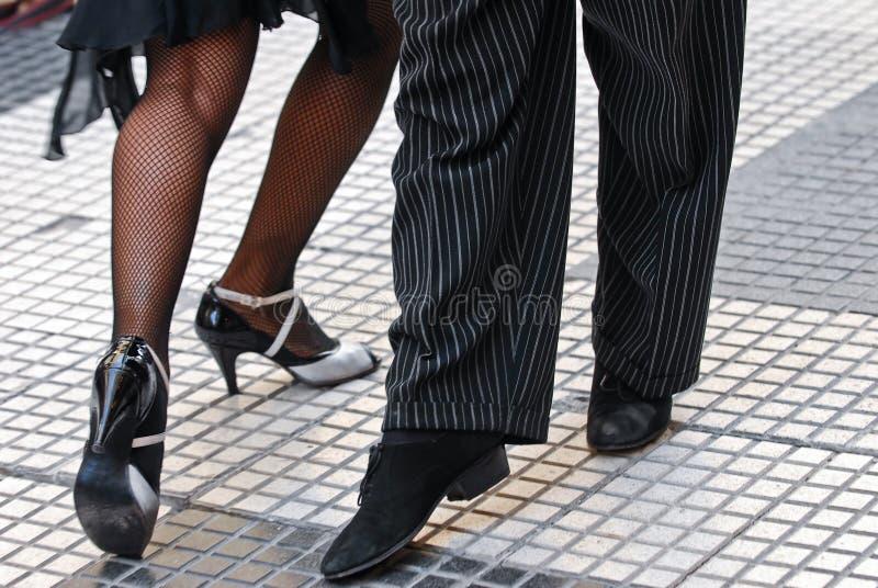 De schoenen van de tango stock foto's