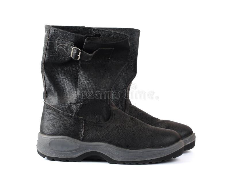 De schoenen van de veiligheid stock fotografie