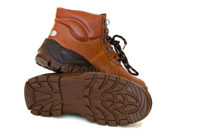 De schoenen van de veiligheid royalty-vrije stock foto