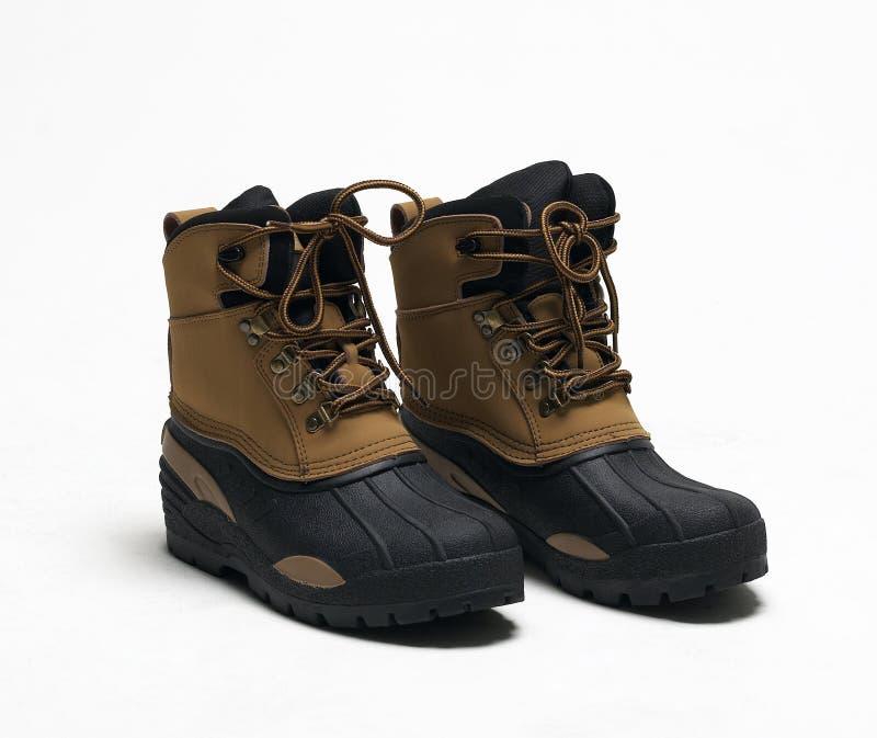 De schoenen van de veiligheid stock afbeelding