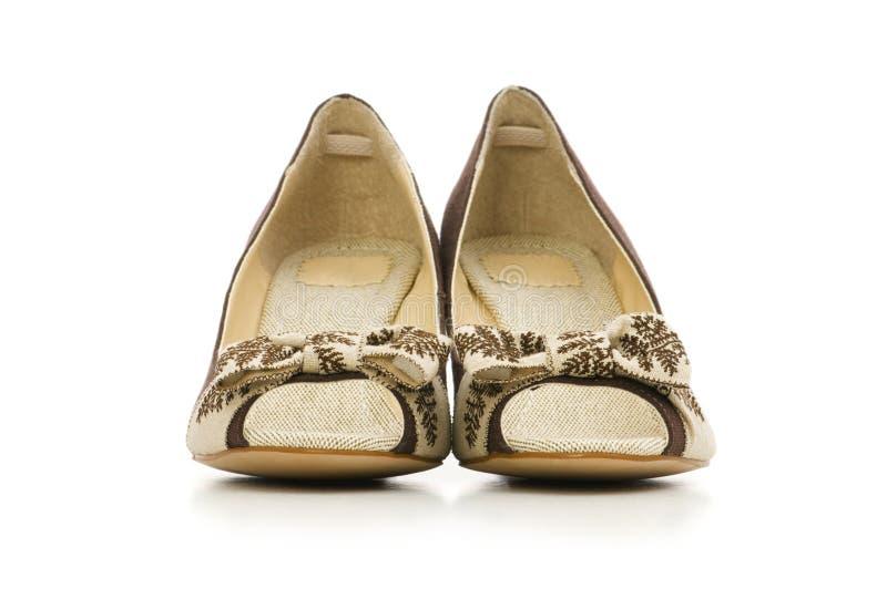 De schoenen van de vrouw royalty-vrije stock foto's