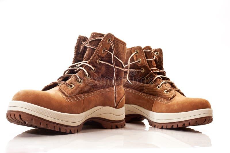 De schoenen van de winter stock fotografie