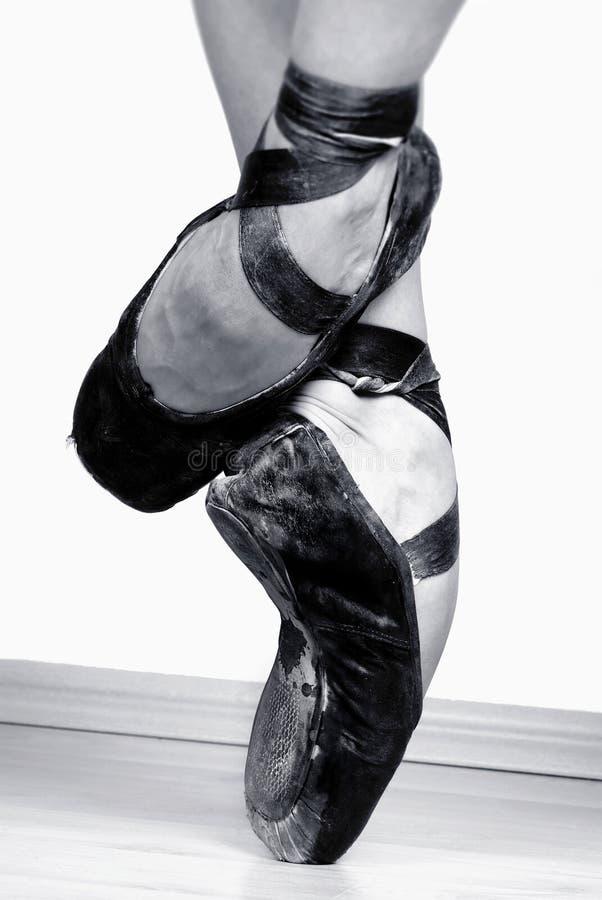 De Schoenen van het ballet stock foto's