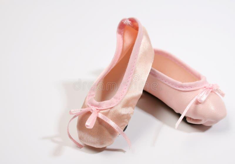 De Schoenen van het ballet royalty-vrije stock afbeelding