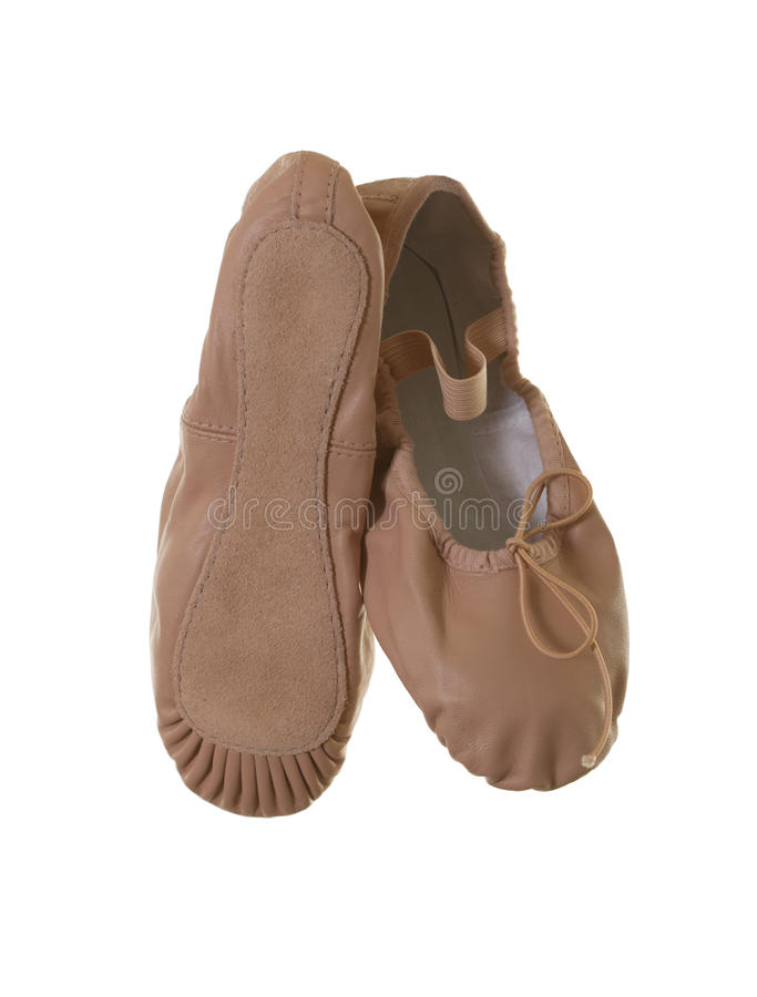 De Schoenen van het ballet met Enige Mening stock afbeeldingen