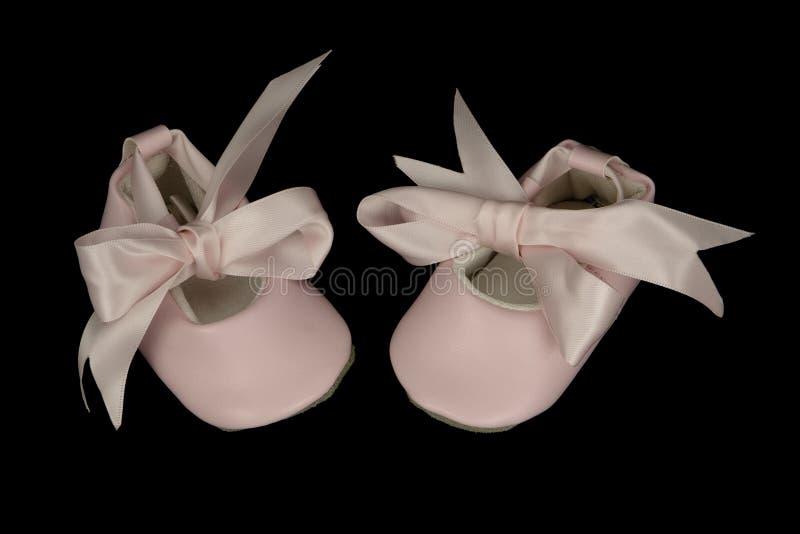 De Schoenen van het Ballet van de baby royalty-vrije stock afbeelding
