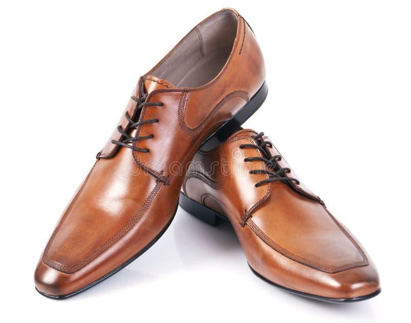 De schoenen van het leer