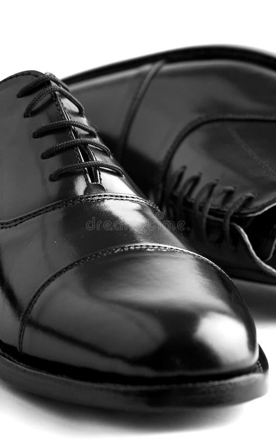 De Schoenen van het Leer van Gentlemanâs royalty-vrije stock afbeeldingen