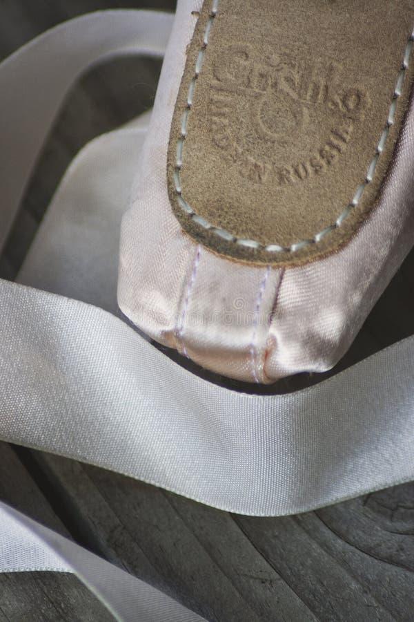 De Schoenen van Pointe van het Grishkoballet royalty-vrije stock foto's