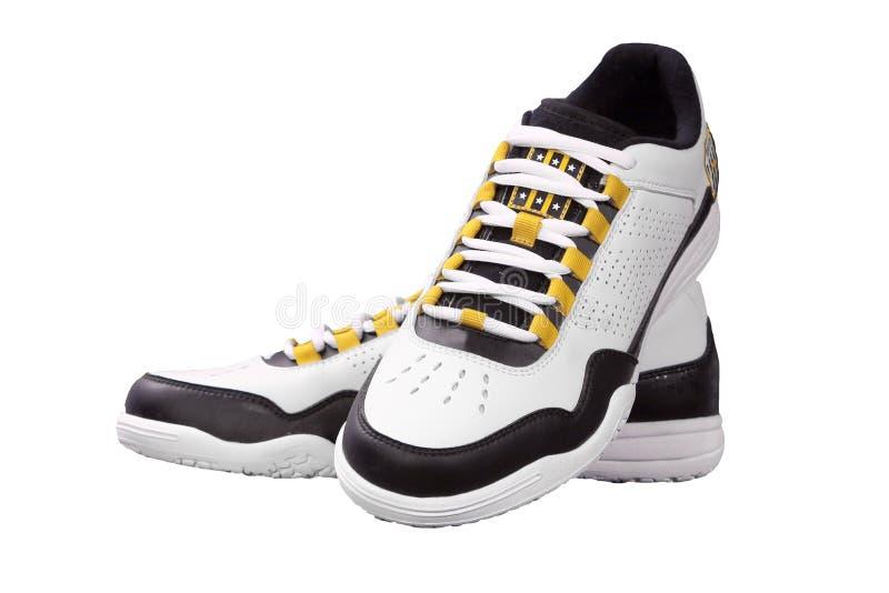 De schoenen van sporten stock afbeeldingen