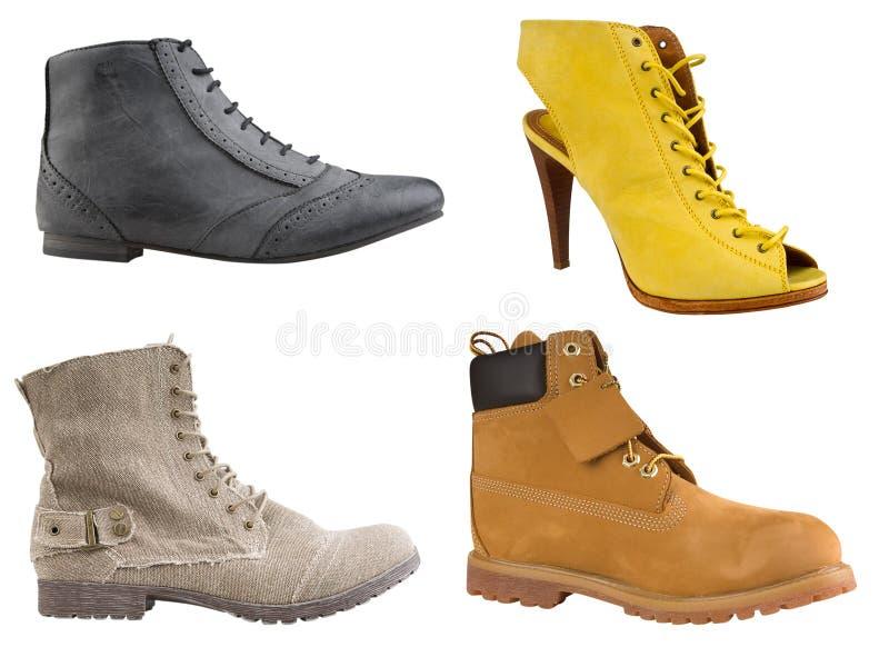 De schoenen van vrouwen royalty-vrije stock afbeelding