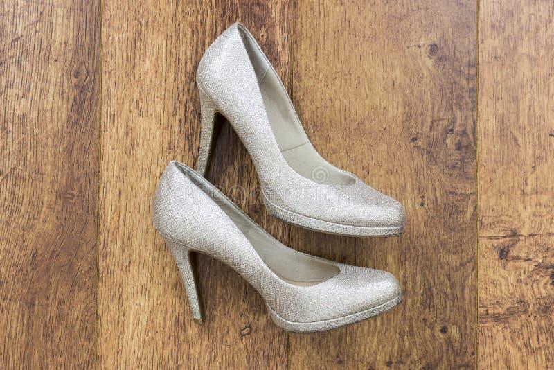 De schoenen van vrouwen `s stock afbeeldingen