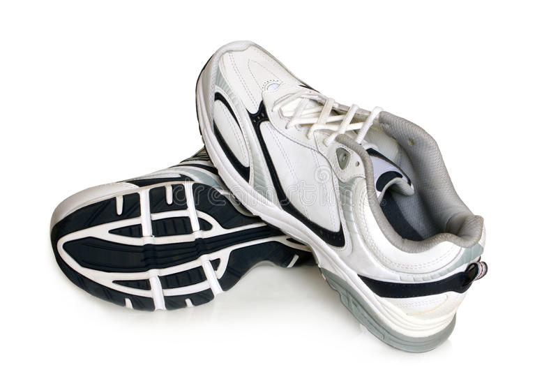 De schoenenpaar van de sport royalty-vrije stock fotografie
