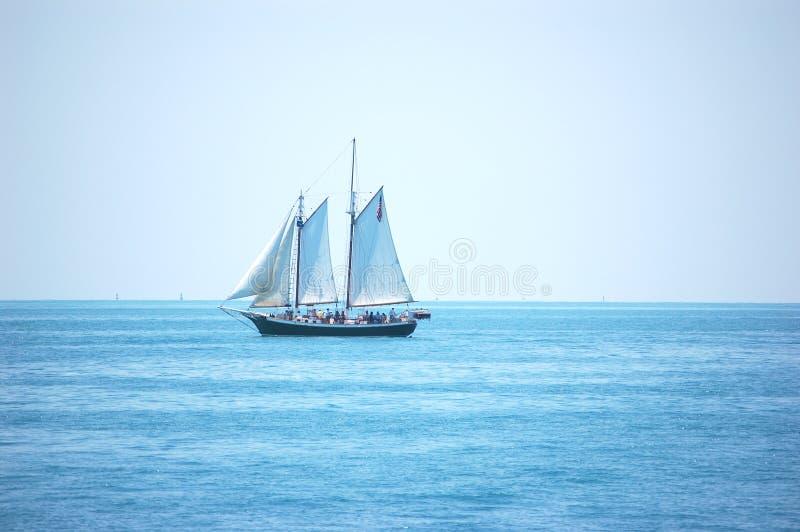 De Schoener van Key West royalty-vrije stock afbeelding