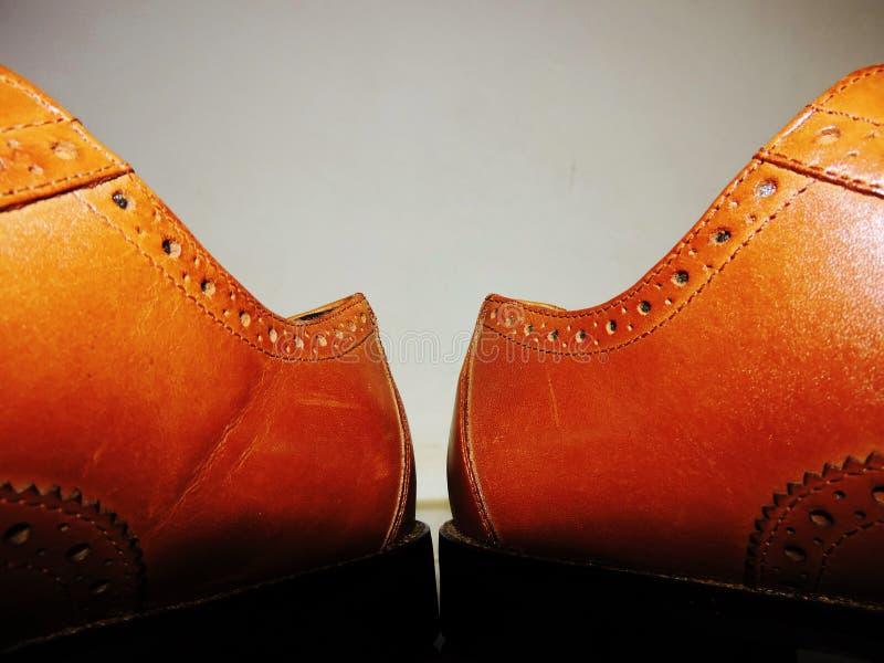 De schoenkaart royalty-vrije stock foto