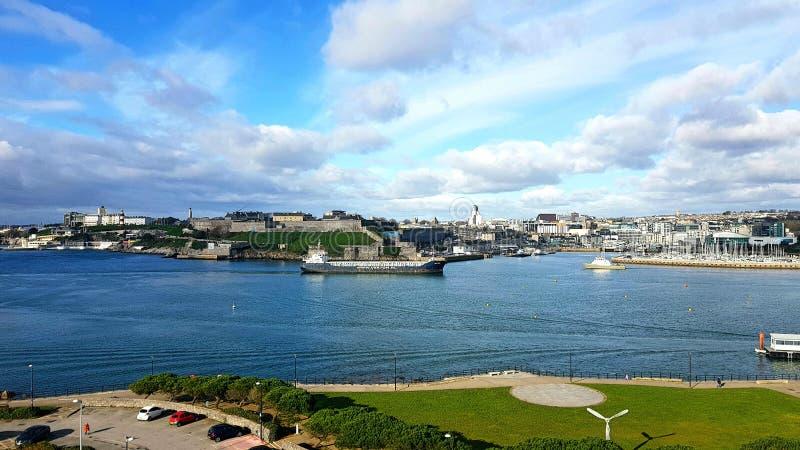 De schoffel en sutton de haven van Plymouth Devon het UK royalty-vrije stock fotografie