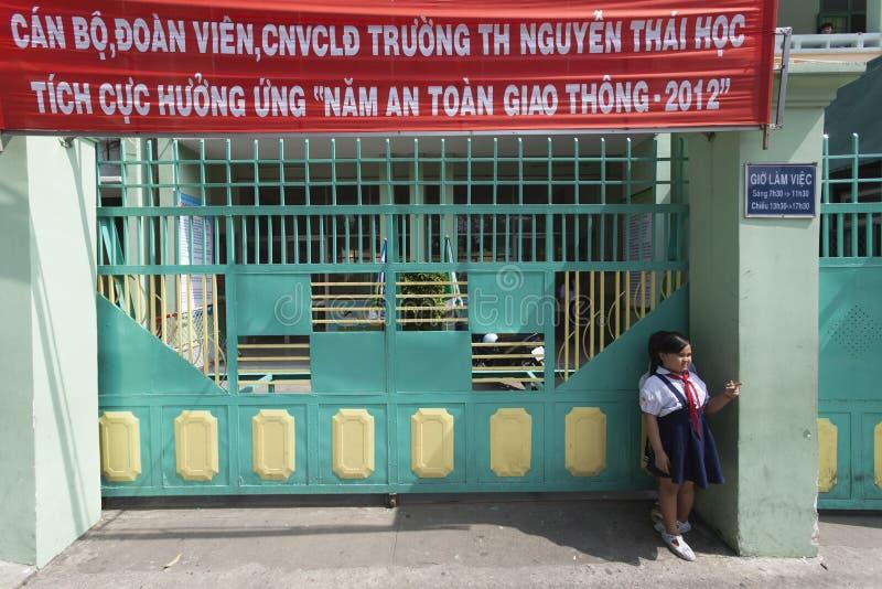 De scholen van Vietnam royalty-vrije stock foto's