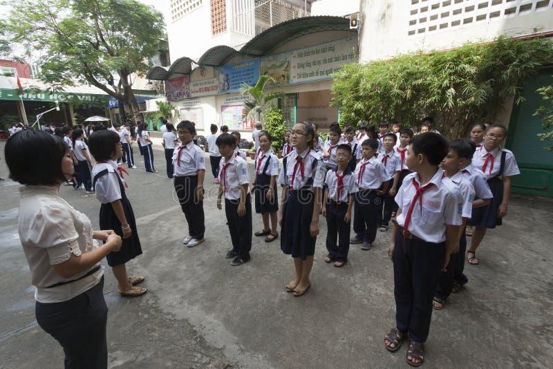 De scholen van Vietnam stock foto's