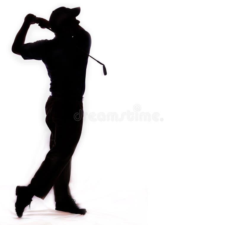 De schommeling van het golf die op wit wordt geïsoleerdn stock foto's