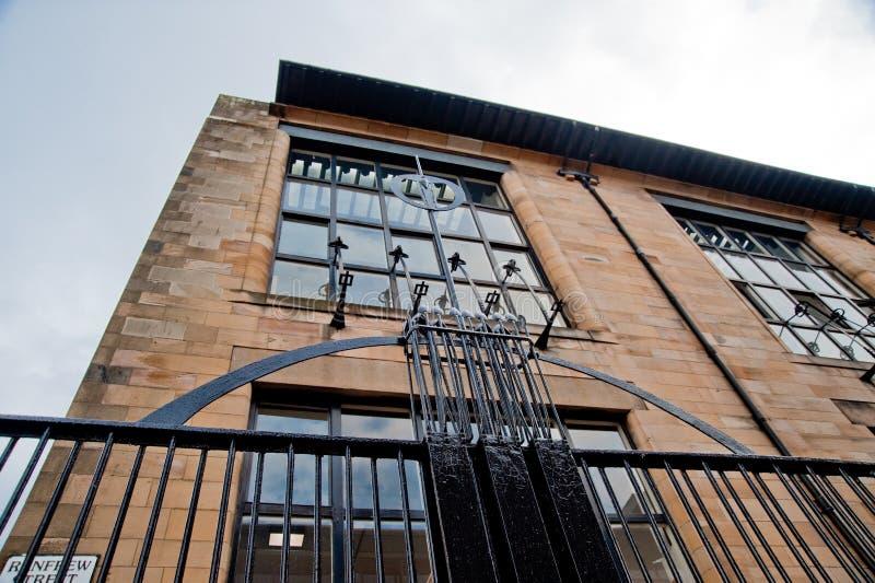 De School van Glasgow van Art. royalty-vrije stock foto's