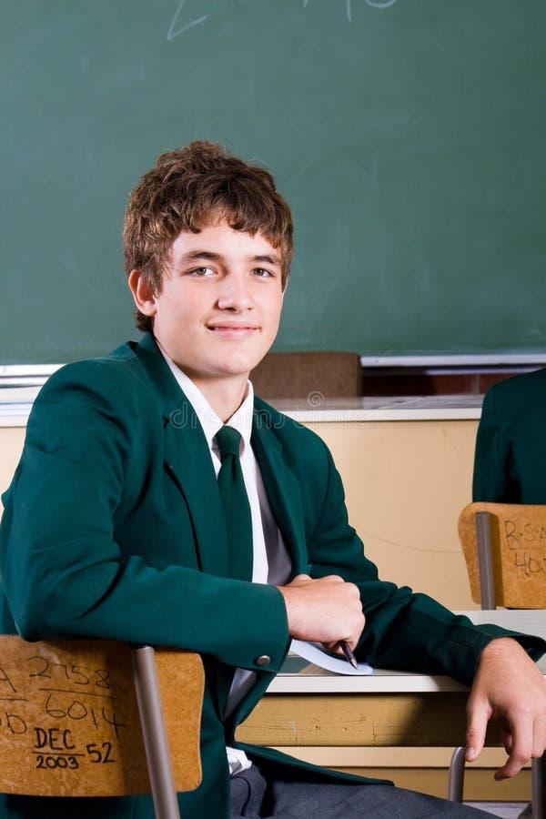 De schooljongen van de tiener royalty-vrije stock fotografie