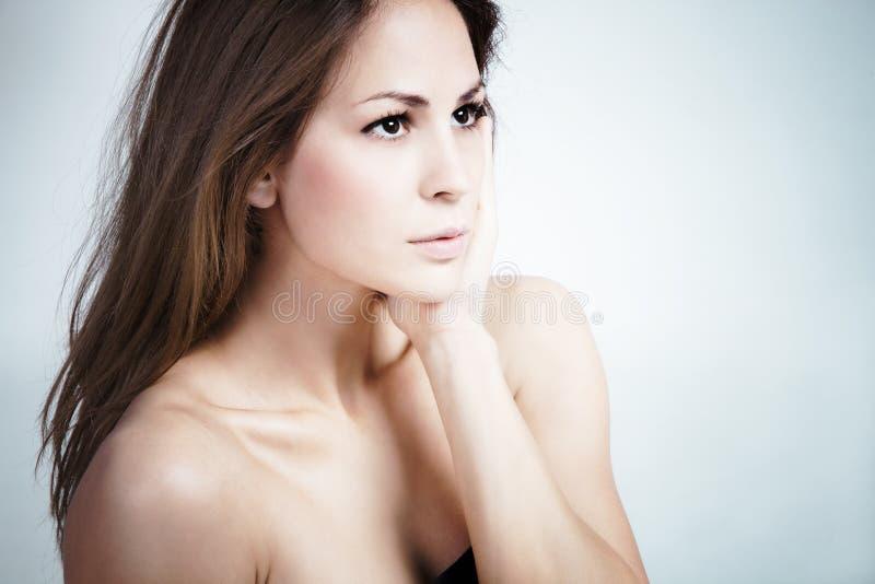 De schoonheid van de vrouw royalty-vrije stock foto